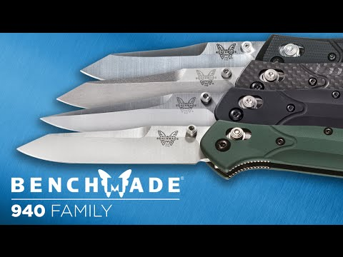 Benchmade 940 Family - Overview