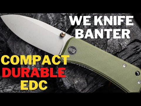 The All NEW WE Knives BANTER | Compact, Durable, EDC