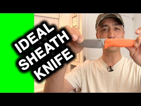 Benchmade Steep Country Knife Review - What's a Great sheath knife?