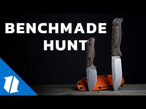 Hunting with Benchmade Knives - New Knives! | Knife Banter S2 (Ep 48)