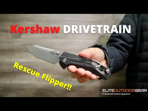 NEW!! Kershaw DRIVETRAIN | Rescue Flipper
