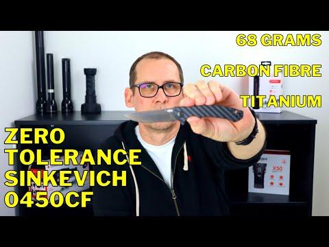 ULTIMATE EDC Designer Knife | Zero Tolerance Sinkevich 0450CF