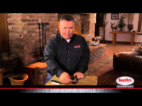 How to use Smith's 3-N-1 Sharpening System
