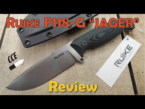"""Review of the Ruike Knives F118-G """"JAGER"""" Survival Knife"""