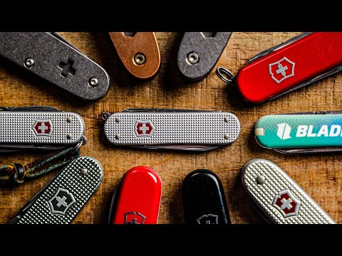 5 BEST Swiss Army Knives for EDC