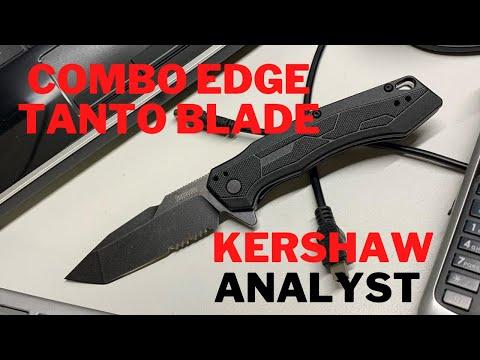 COMBO EDGE TANTO   Kershaw Analyst