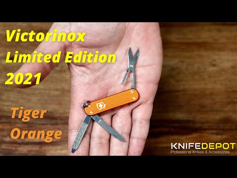 Victorinox Classic TIGER ORANGE | LIMITED EDITION 2021