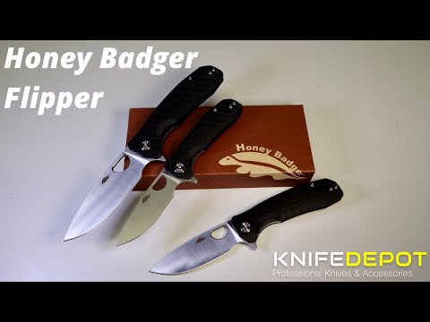 HONEY BADGER FLIPPER | Review and Comparison