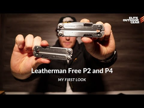 Leatherman Free P2 and P4 My First Look