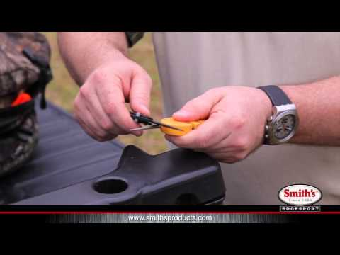 How-To Use the Smith's Pocket Pal X2 Sharpener and Survival Tool