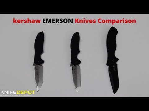 KERSHAW EMERSON 6k, 7k and 9k Comparison