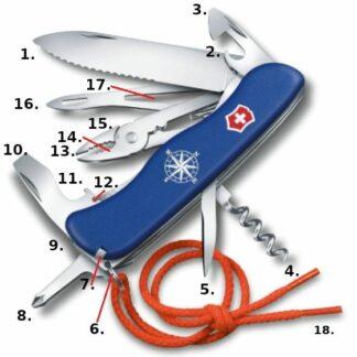 Victorinox Skipper Blue Swiss Army Knife