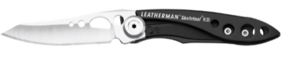 Leatherman SKELETOOL KB Black, Plain Blade
