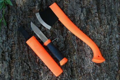 Morakniv Outdoor Axe & Knife Kit- Orange
