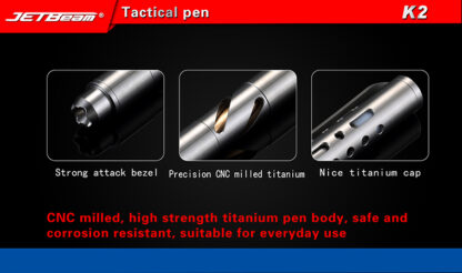 Niteye K2 Titanium Tactical Pen-11048