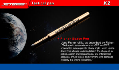 Niteye K2 Titanium Tactical Pen-11046