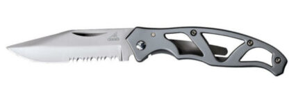 Gerber Knife Paraframe Mini Serrated Edge-0