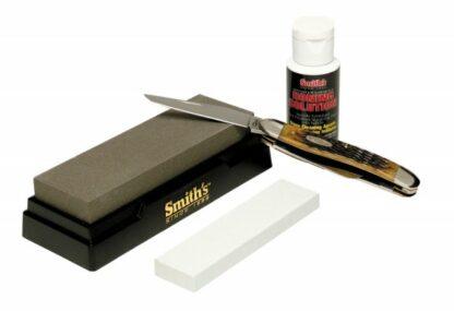 Smith's Knife Sharpener- 2 Stone-0