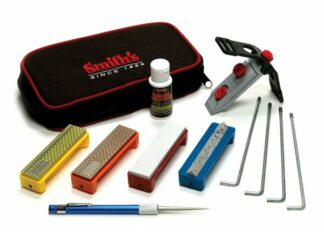 Smith's Diamond Precision Sharpening System - 4 Stones-0