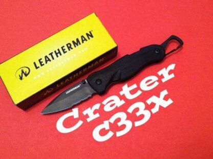 Leatherman C33X Crater - Black -10974