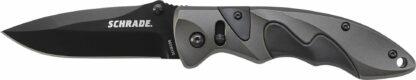 Schrade Sure-Lock Black AUS-8 Blade Aluminum Handle-12417