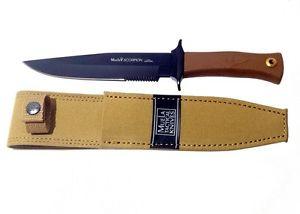Muela Scorpion-18NM/Teflon Coated Blade w/Desert Pouch