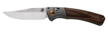 Benchmade 15080-2 Crooked River Axis Folding Knife - Wood
