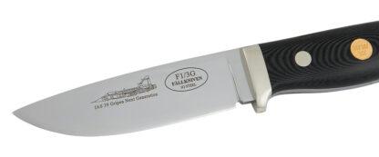 Fällkniven F1L3GBM - Satin Blade, Leather Pouch