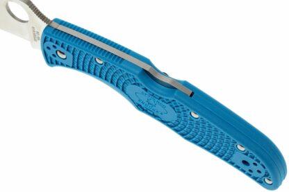 Spyderco Endura 4 Lightweight Blue Flat Ground - Plain Blade