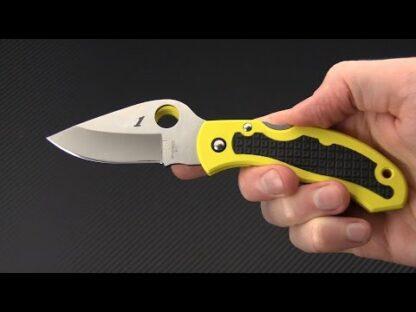 Spyderco Snap-It Salt Lightweight Yellow H1