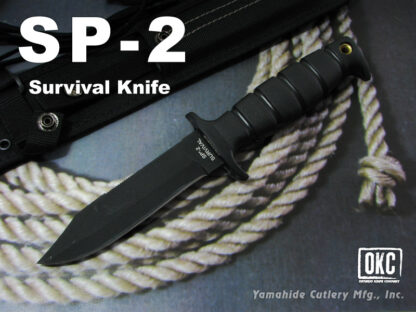 Ontario Knife Co. 8680 SP-2 Survival Fixed Blade Knife w/Pouch