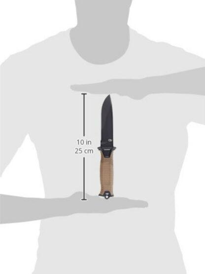 Gerber Strongarm - Coyote Brown, Combo Blade