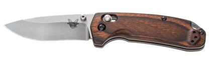 Benchmade 15031-2 North Fork Axis Folding Knife - Wood