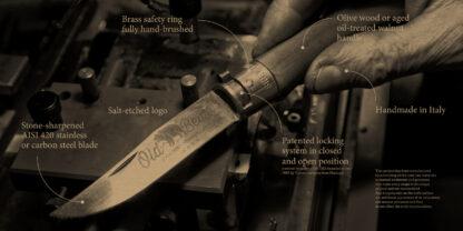 Antonini 9306/21LN Old Bear Walnut Folding Knife - Large