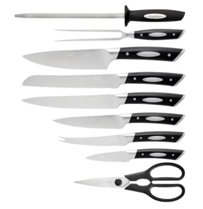 SCANPAN 10 Piece Knife Block Set