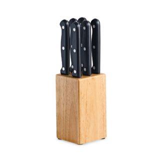 AVANTI 7pc Steak Knife Block