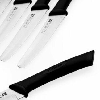 SCANPAN Spectrum 6 Piece Steak Knife Set