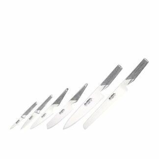 GLOBAL Synergy Cutlery Block Set - 7 Piece
