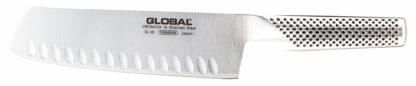 Global Classic 18cm Vegetable Knife, Fluted
