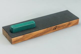 Beaver Craft LS4CP1 One-Sided Leather Strop Paddle, Extra P01