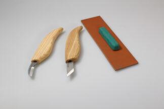 Beaver Craft S04 Chip Carving Knife Set