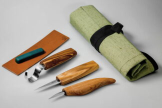 Beaver Craft S17 Whittle Knife and Extended Spoon Set
