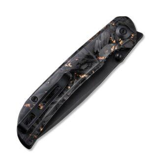 Civivi Imperium C2106C - Copper Shred Carbon Fibre Handle, Black Blade